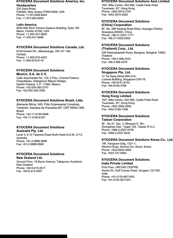 Kyocera Ecosys P2135Dn Operation Guide 820053 ManualsLib