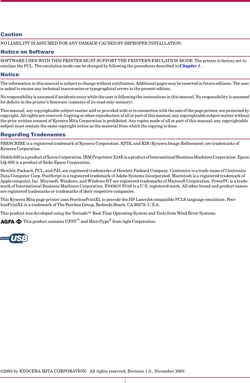 Kyocera Fs 1010 Users Manual