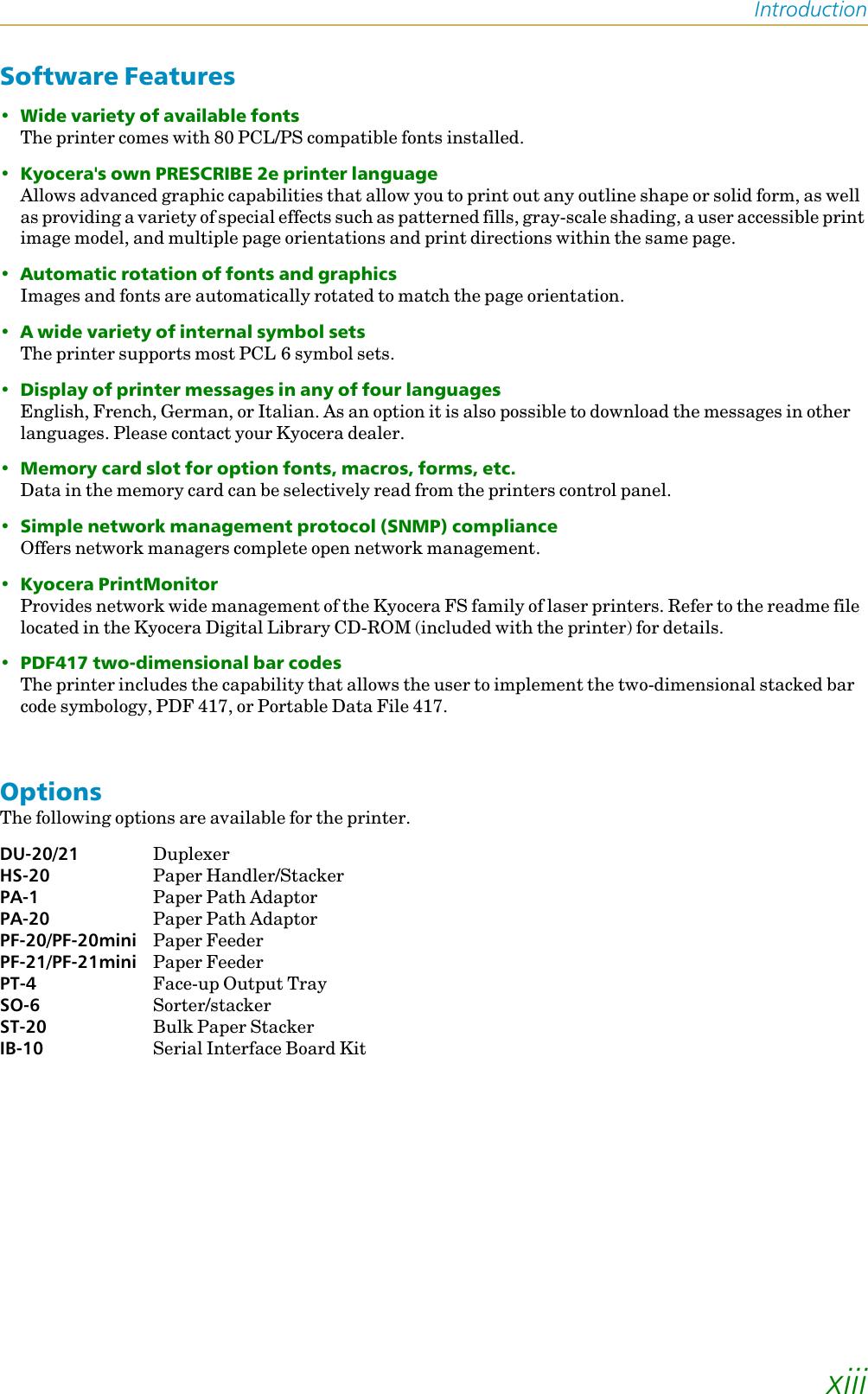 Kyocera Fs 1200 Users Manual
