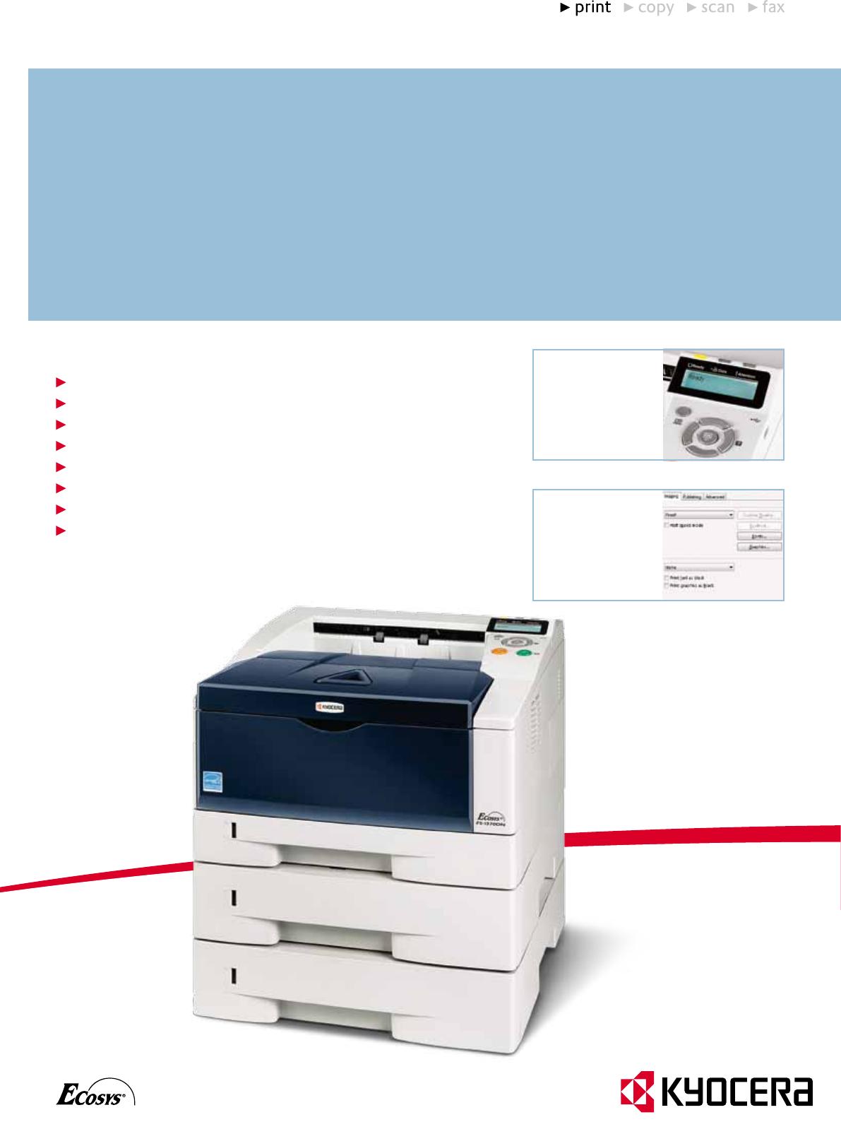 KYOCERA ECOSYS FS-1370DN PRINTER PC-FAX DRIVER WINDOWS 7 (2019)