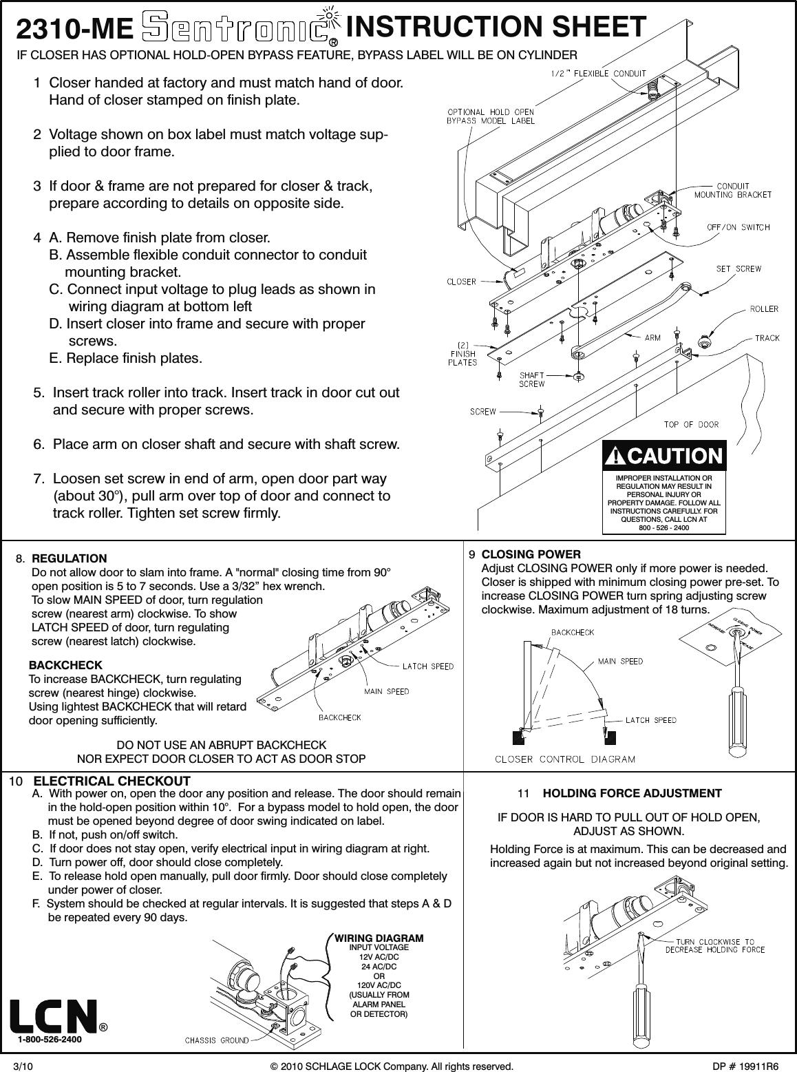 wrg 0704] switch for gm part 3895923 wiring schematicslcn besam wiring diagrams lcn lcn_doorcontrols_firelifesafetyseries_2310me_instructionsinstallation_19911 2310me installation guide lcn2310meinstallation