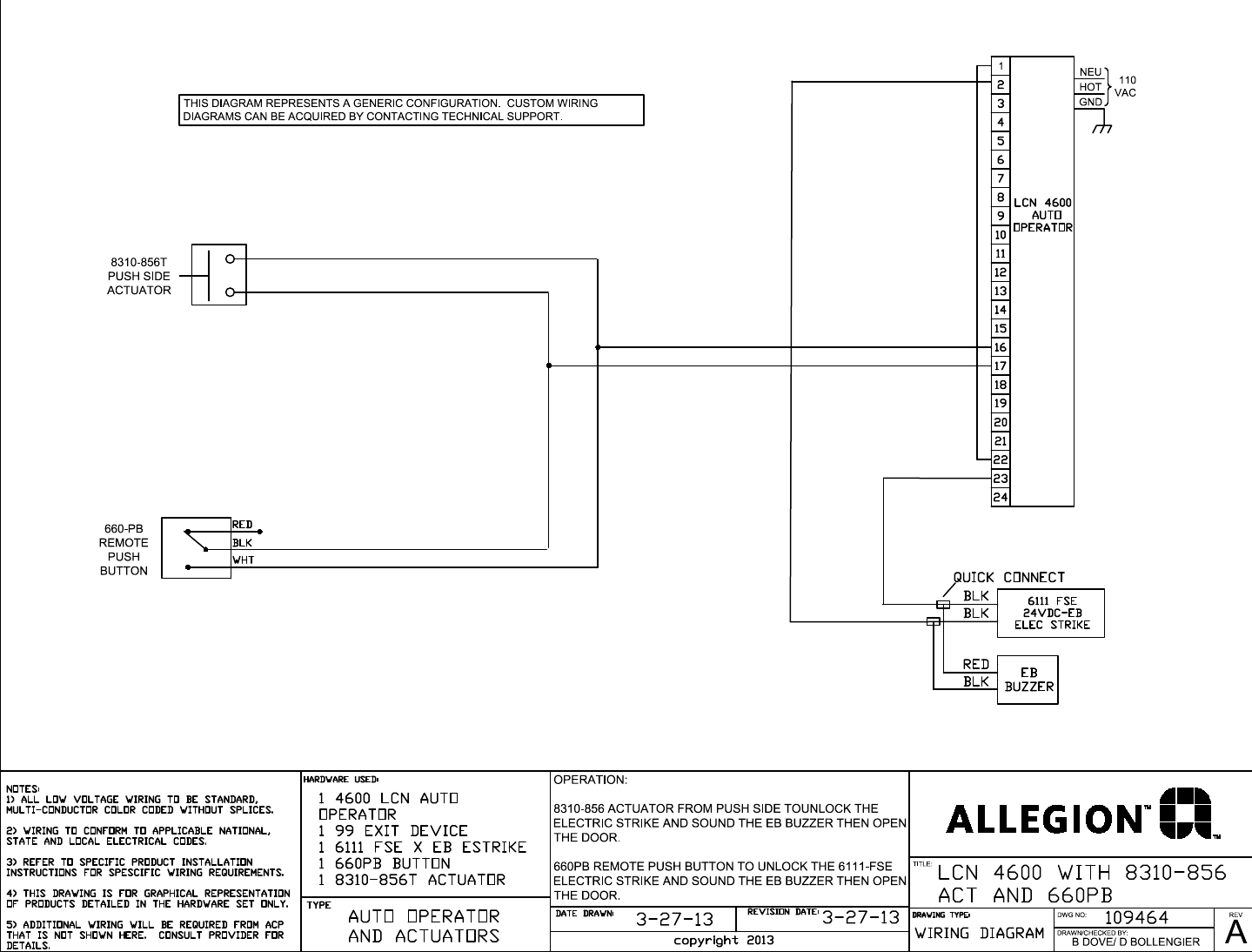 Lcn 4600 With 8310 856 Wiring Diagram Lcn4600 8310