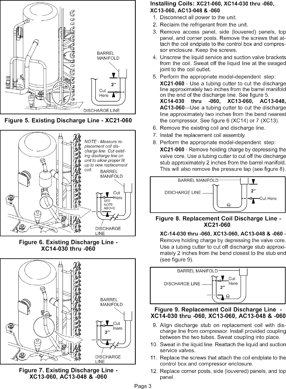 lennox air conditioner heat pump outside unit manual l0805508 rh usermanual wiki lennox split air conditioner manual lennox split system air conditioner manual