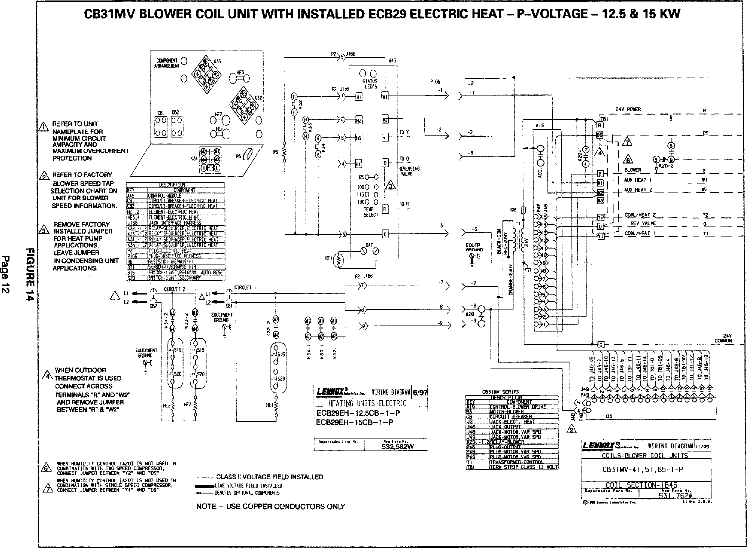 Wiring Diagram For Lennox Airhandlers