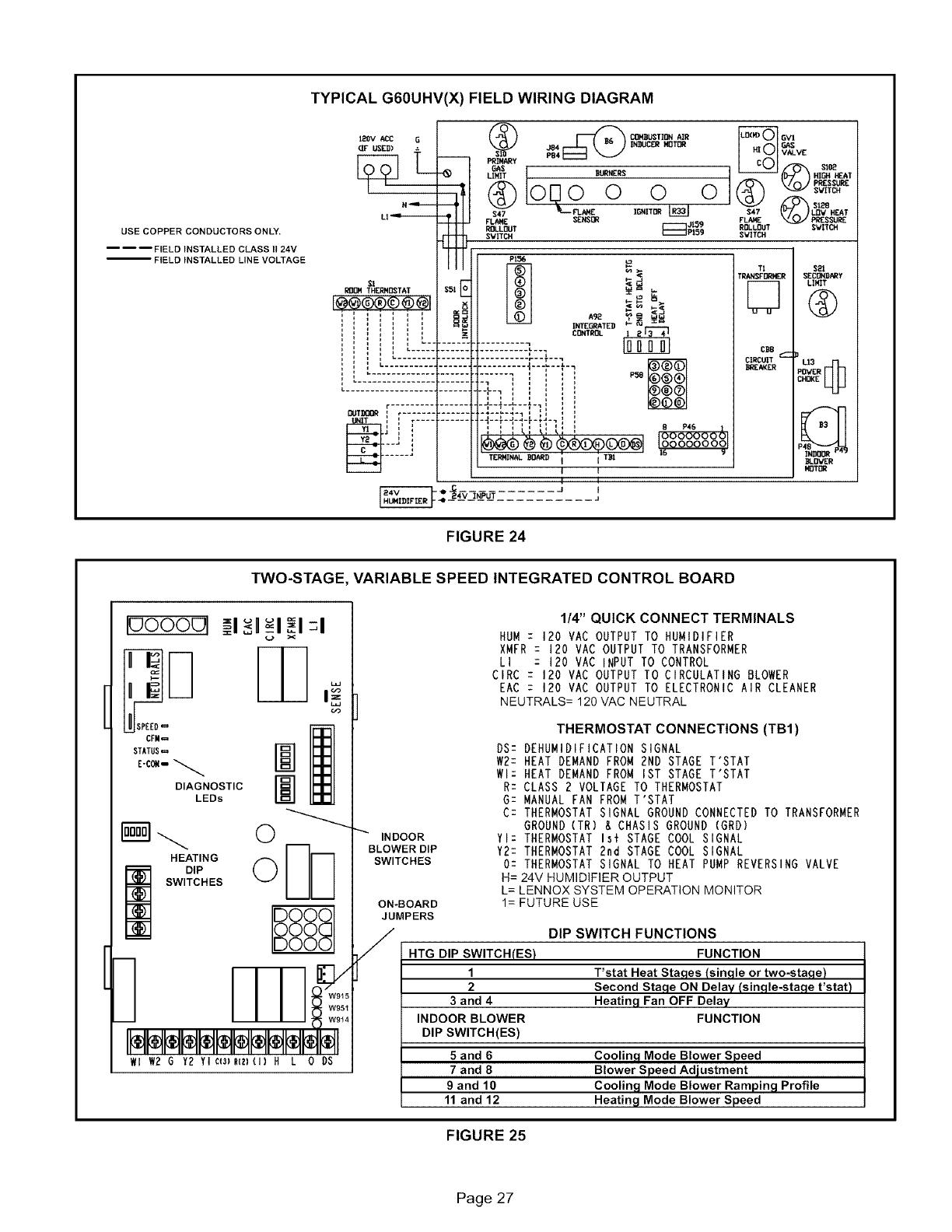 Lennox Furnace Heater Gas Manual L0806201