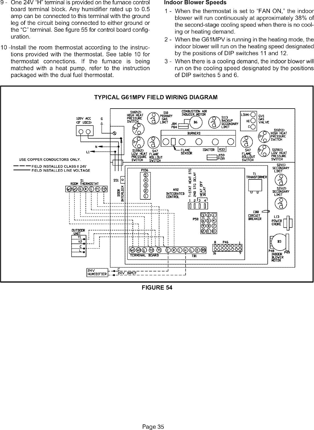 LENNOX Furnace/Heater, Gas Manual L0806230
