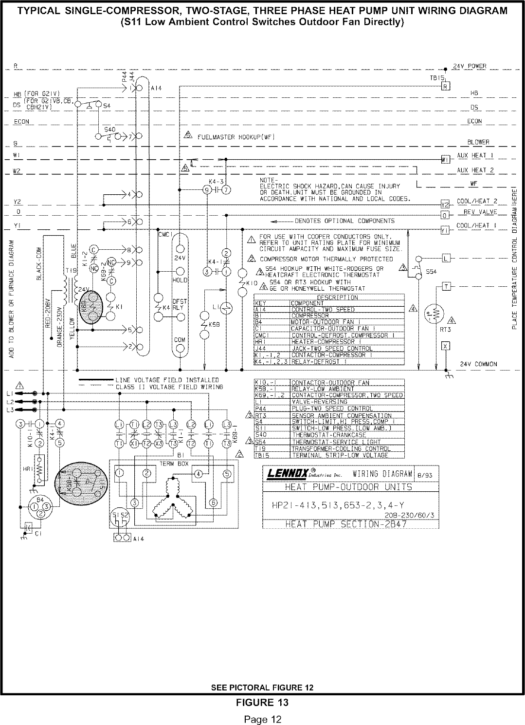 Capacitor Wiring Diagram On Heat Pump Outdoor Unit Wiring Diagram