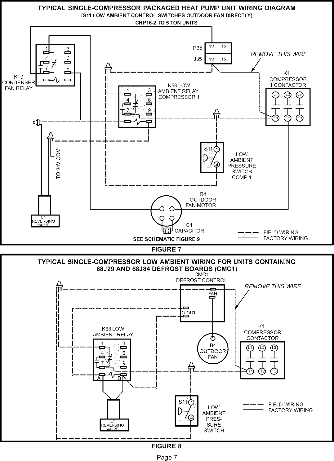 Lennox Controls And Hvac Accessories Manual L0806303 Wiring Schematic Page 7 Of 12