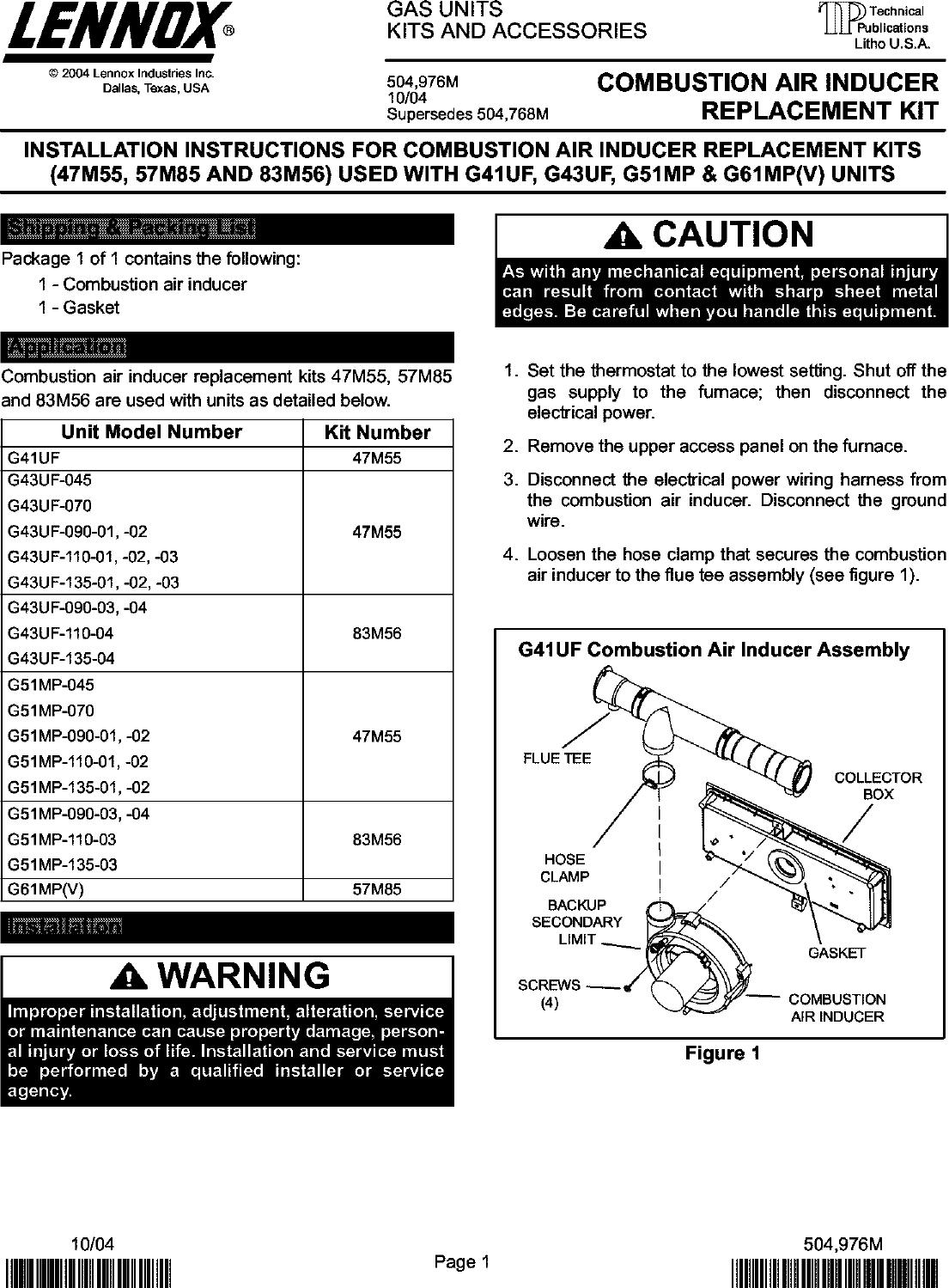 lennox pulse furnace manual pdf