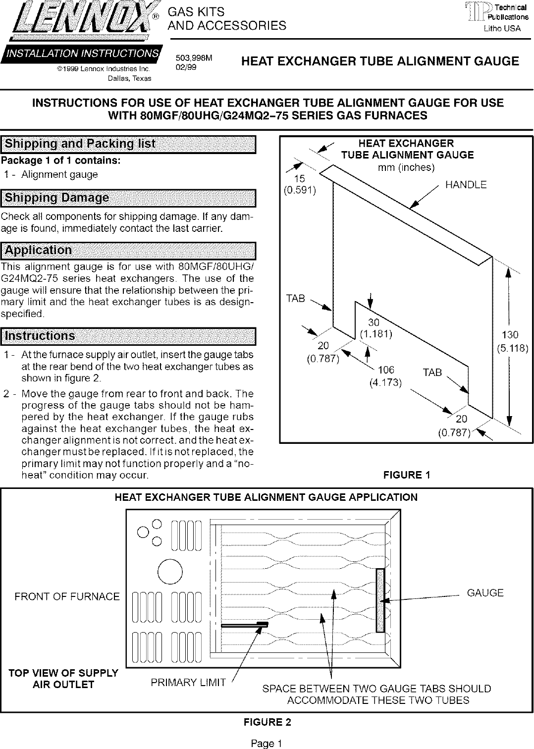 80uhg Lennox Furnace Wiring Diagram