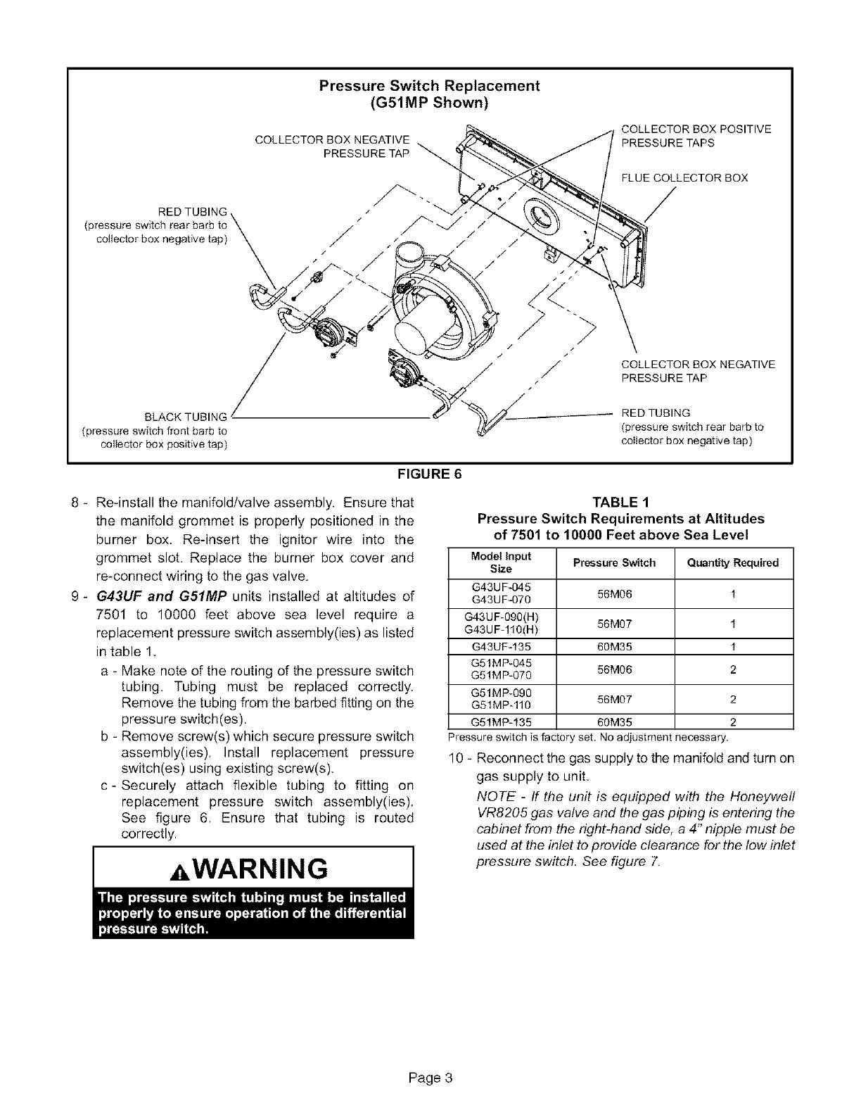 Lennox Furnace  Heater  Gas Manual L08a6037