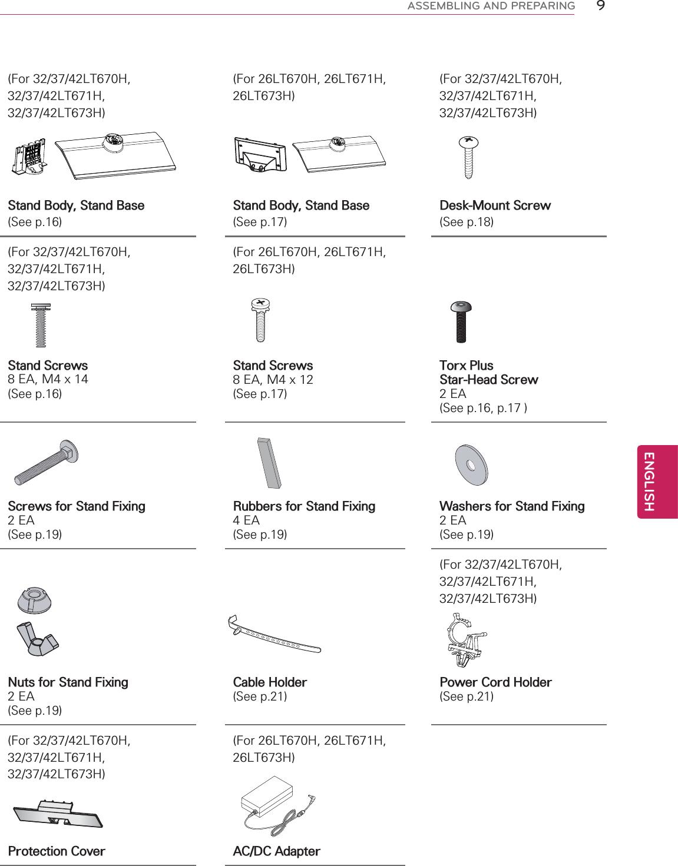 LG Electronics USA 26LT673HUA LED TV MONITOR User Manual