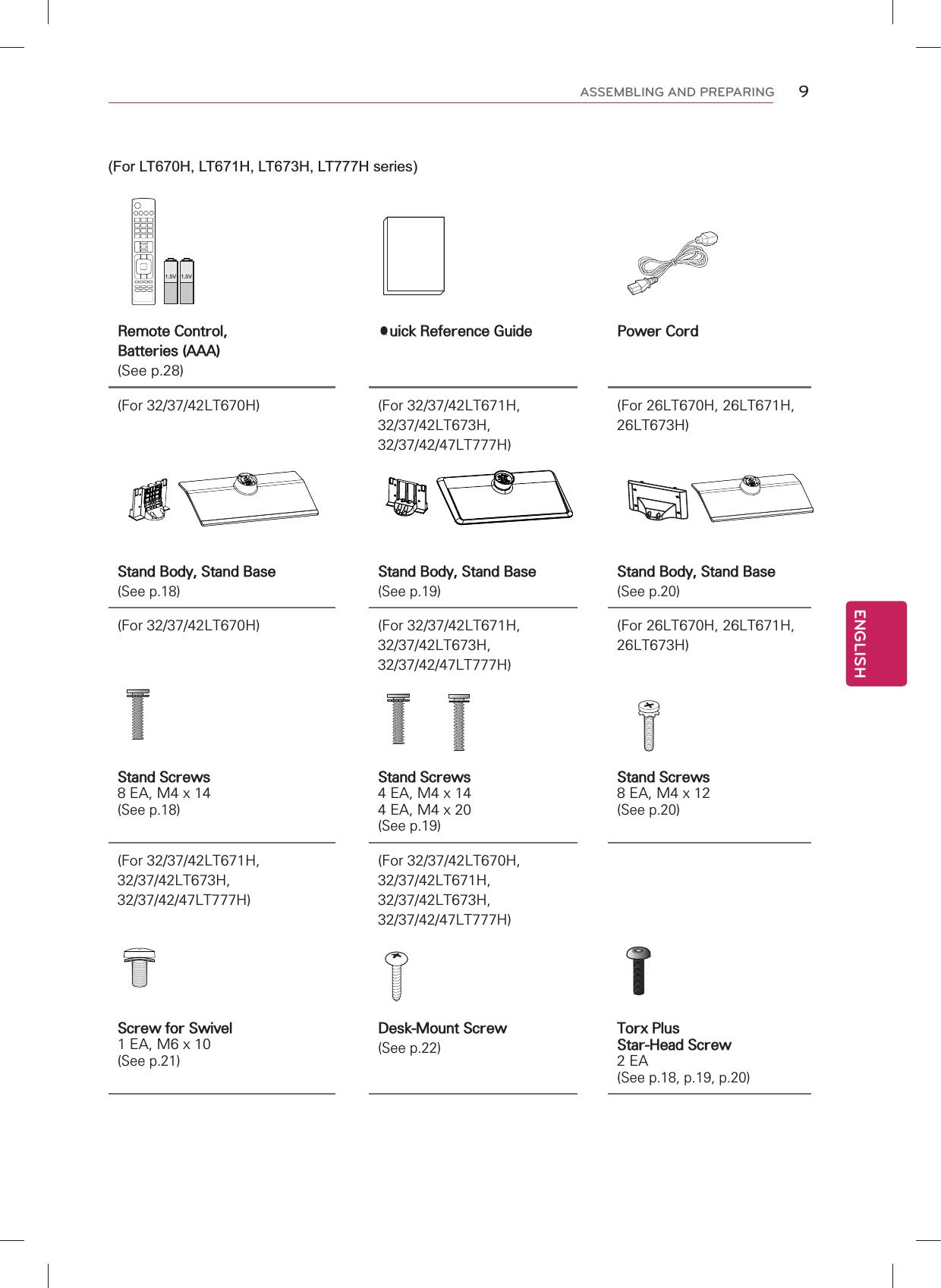 LG Electronics USA 42LT777HUA LED TV MONITOR User Manual