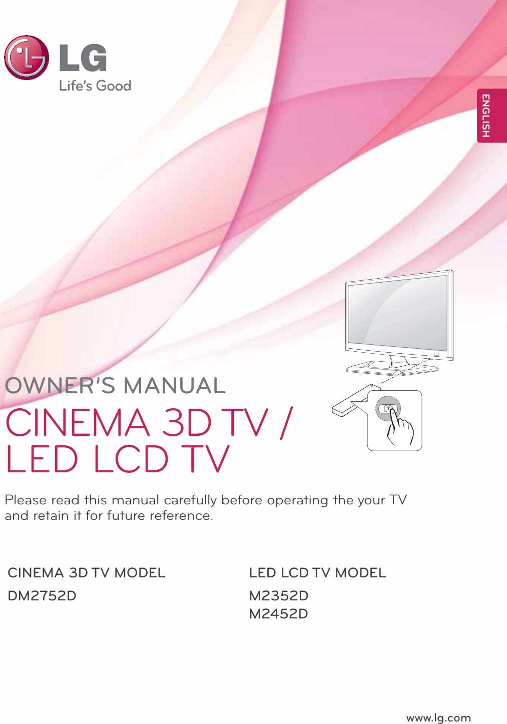 lg lcd tv owners manual