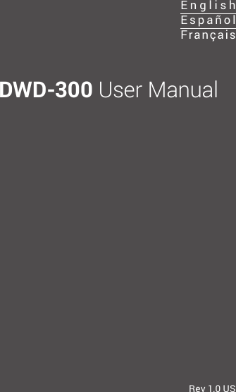 LG Electronics USA DWD300 LG Miracast Dongle User Manual