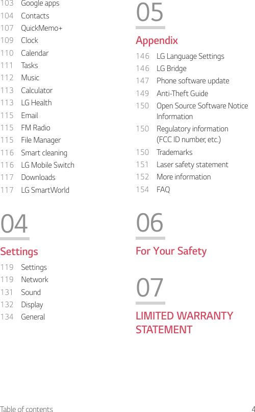 LG Electronics USA Q710AL Multi-band GSM/EDGE/UMTS/CDMA/LTE