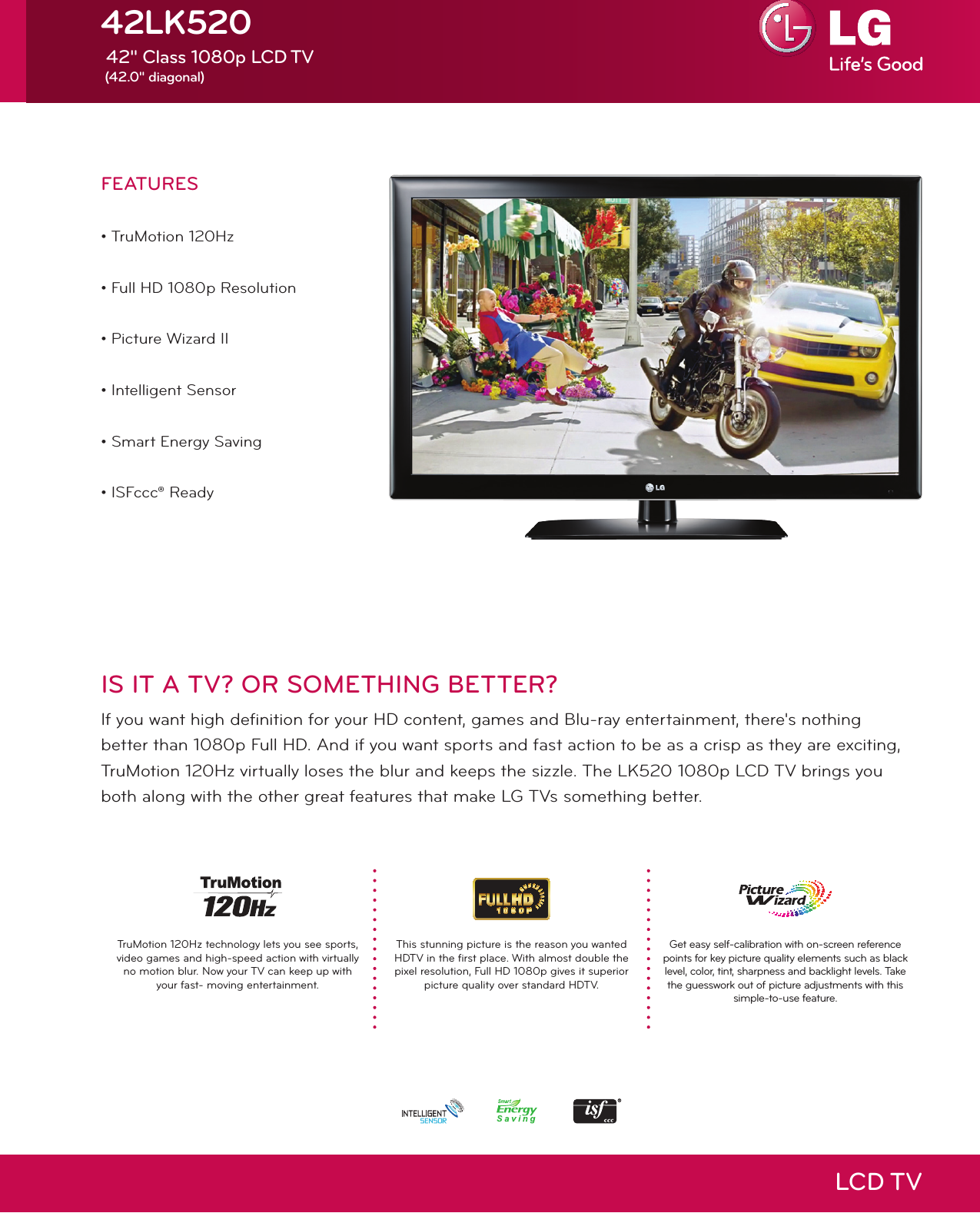 lg 42 inch lcd tv owner manual