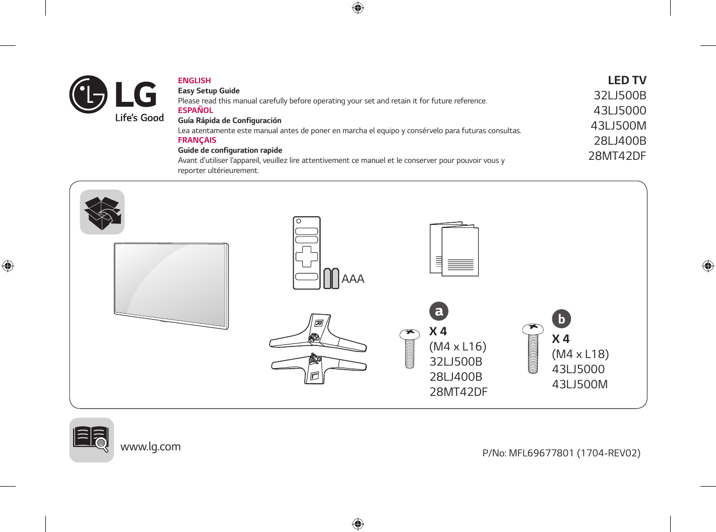 Lg Lcs 500 User Manual