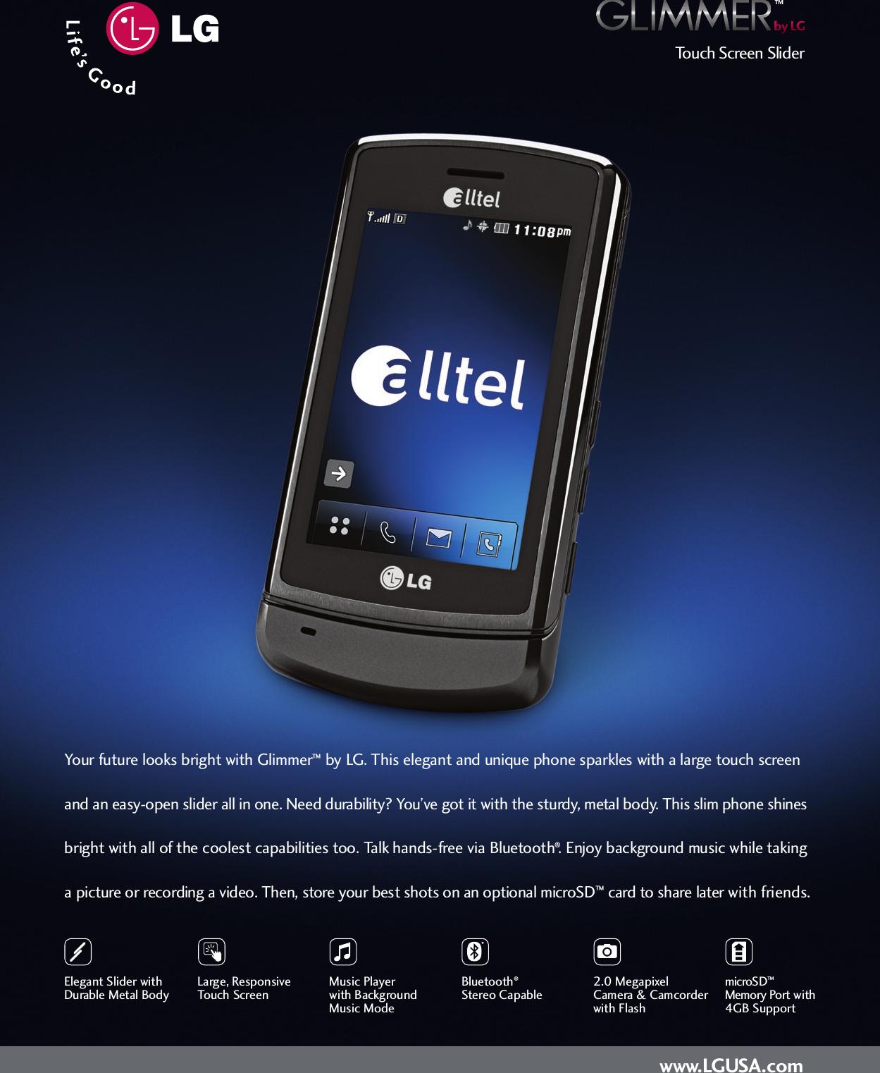 lg ax830 user manual data sheet datasheet rh usermanual wiki LG Phones Manual LG Phones Manual