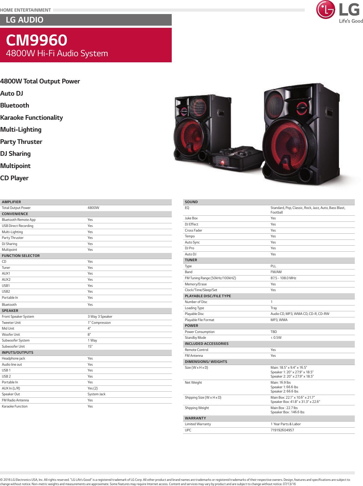 lg cm9960 user manual specification spec sheet rh usermanual wiki LG Extravert Manual LG Flip Phone Manual