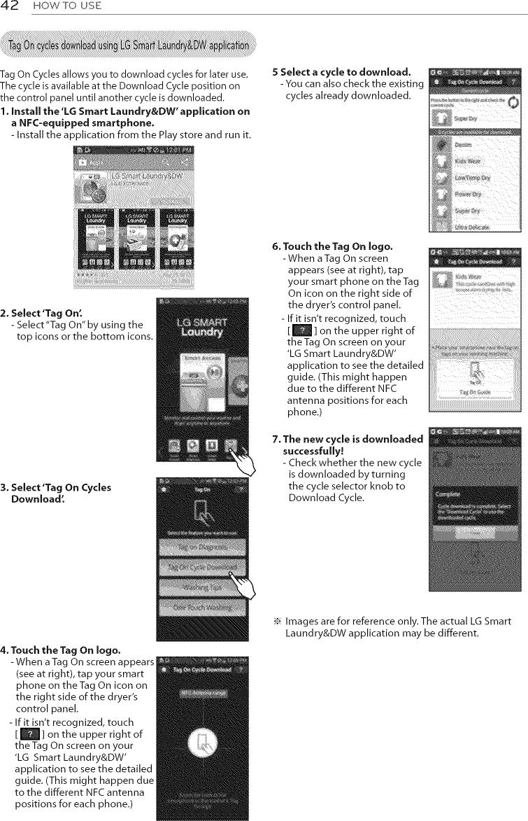 LG DLEX4270V User Manual DRYER Manuals And Guides 1412274L