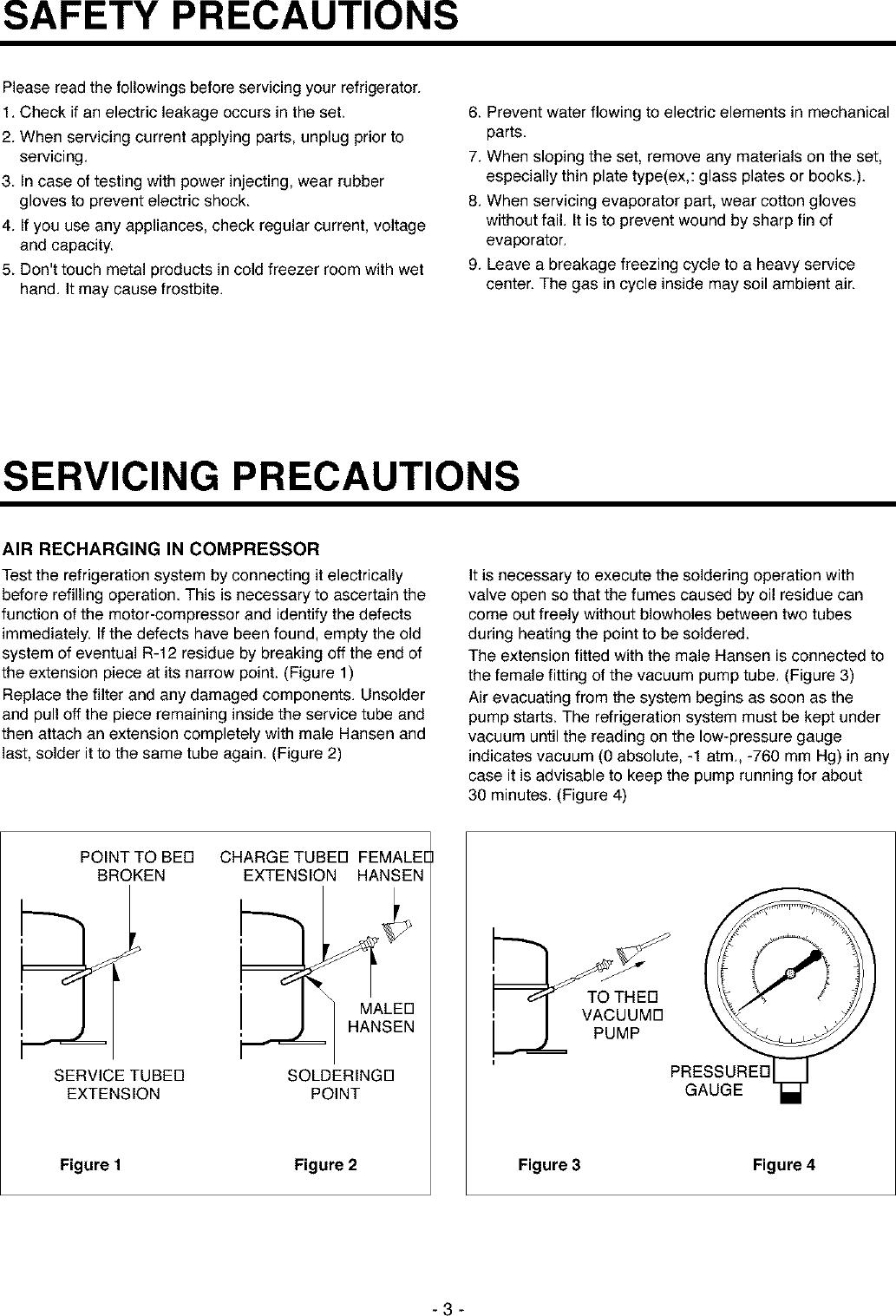lg gr 051sf user manual refrigerator manuals and guides l0212259 rh usermanual wiki A C Compressor Tecumseh Compressor R22 Medium Temp