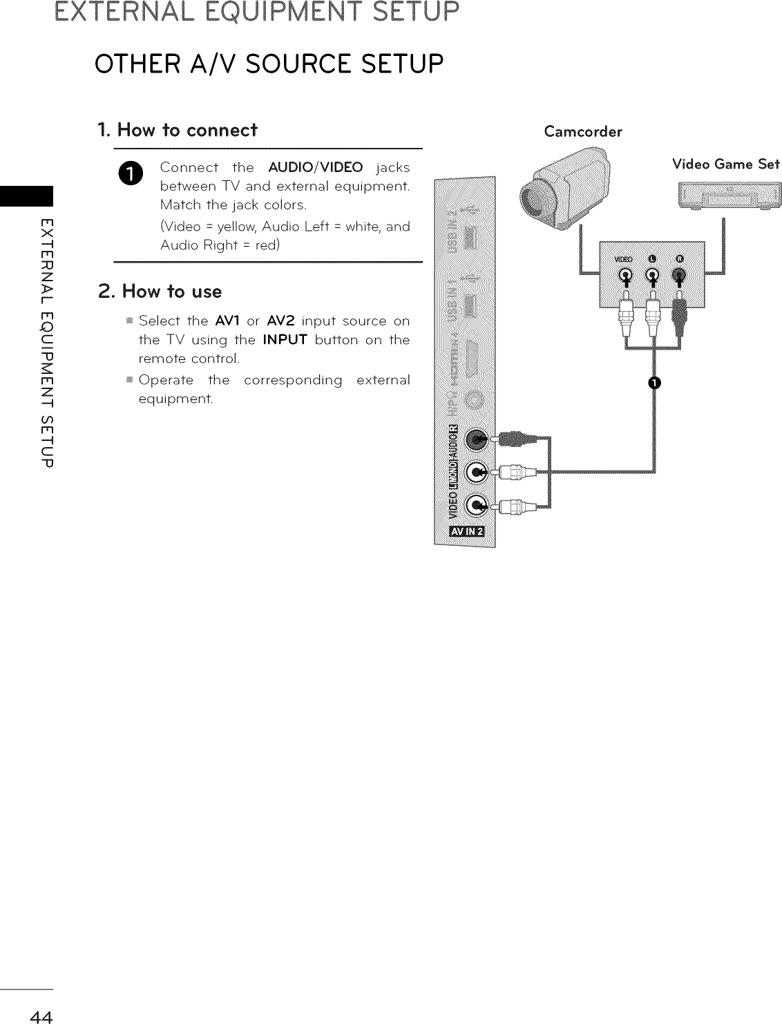 Page 44 of 92 - LG LCD Television Manual L1003283