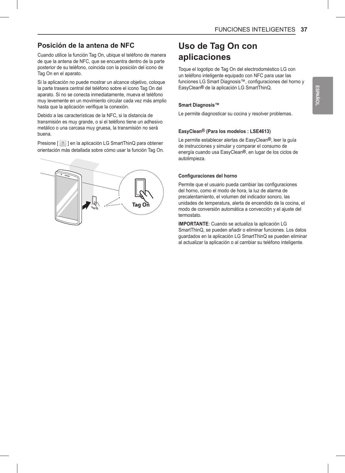 LG LSE4613ST User Manual Owner's MFL68881504 170924