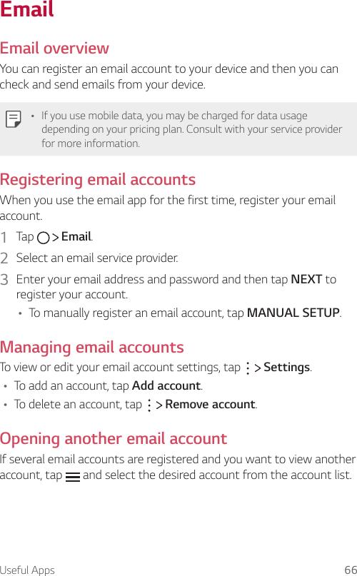 LG M430 Rose Gold User Manual Owner's AIO UG Web EN V1 0 170426
