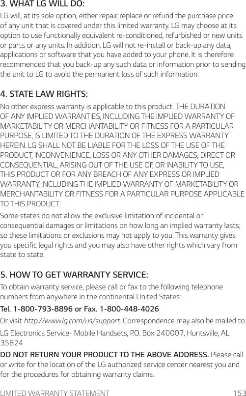 LG MP450 MetroPCS User Manual Owner's LGMP450 MTP UG Web EN V1 0 170412