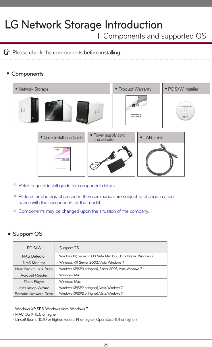 LG N1A1DD1 User Manual Owner's English NAS Total Fullmanual Familycast