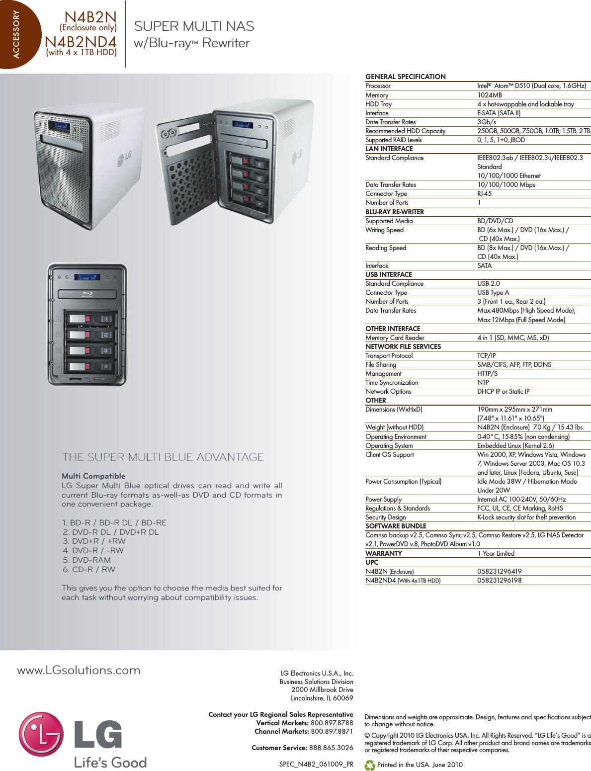 lg n4b2nd4 user manual specification network storage n4b2n spec sheet usermanual wiki