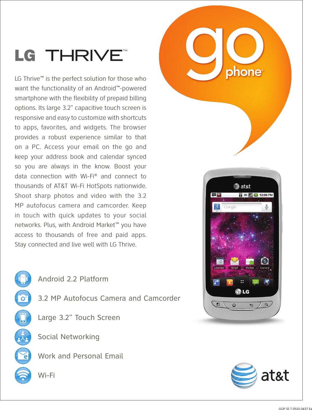 lg p506 user manual data sheet thrive go phone datasheet v2 rh usermanual wiki sprint go flip phone user guide Cell Phone User Guide