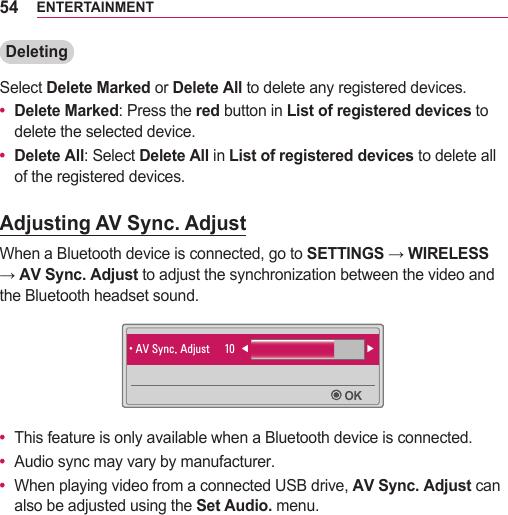 LG PH550 User Manual Owner's ENG