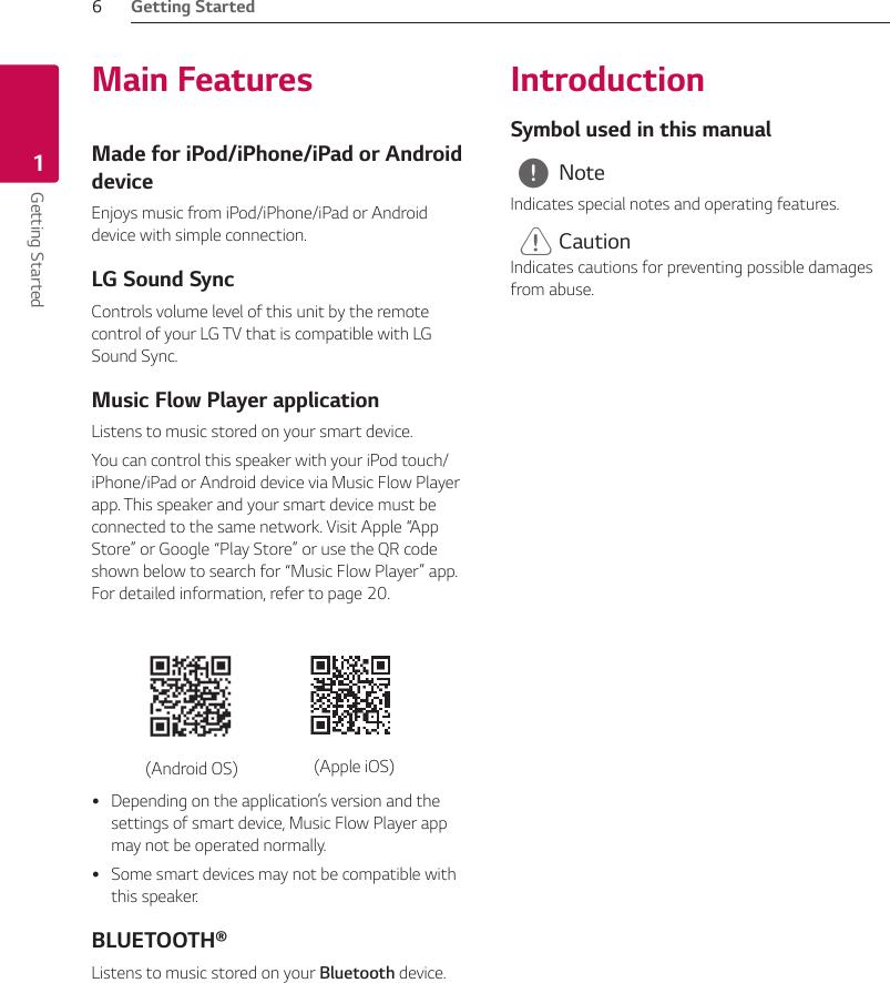 LG SJ8 User Manual Owner's SJ8 DUSALLK (Web) 3rd ENG