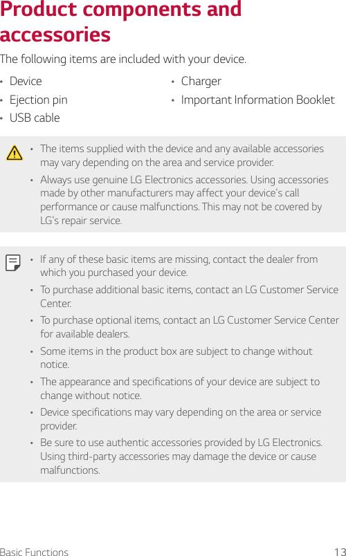 LG SP320 Sprint X Charge User Manual Owner's SPR UG Web EN
