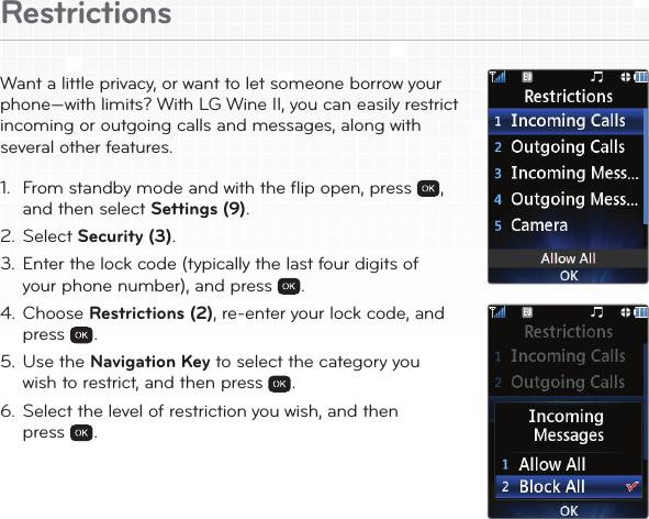 lg un430 blue user manual quick start guide wine ii qsg rh usermanual wiki