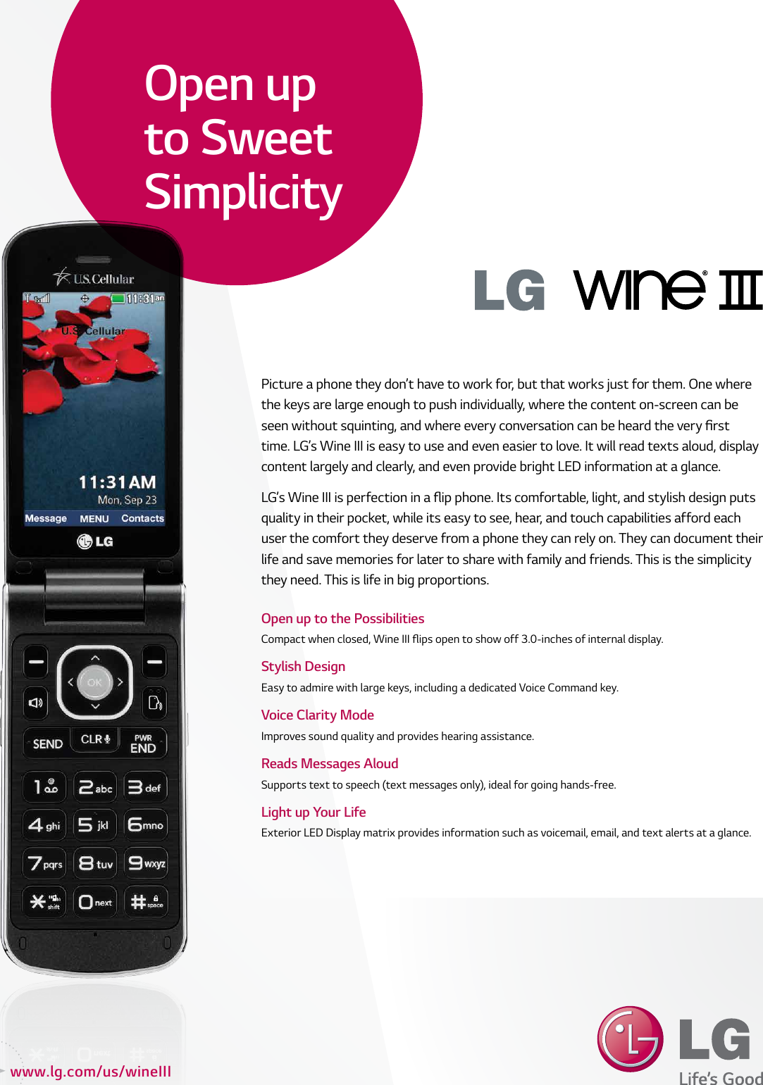 lg un530 user manual data sheet e datasheet wine iii v2 09062013 rh usermanual wiki Octagon LG Phone Un530 LG Wine III