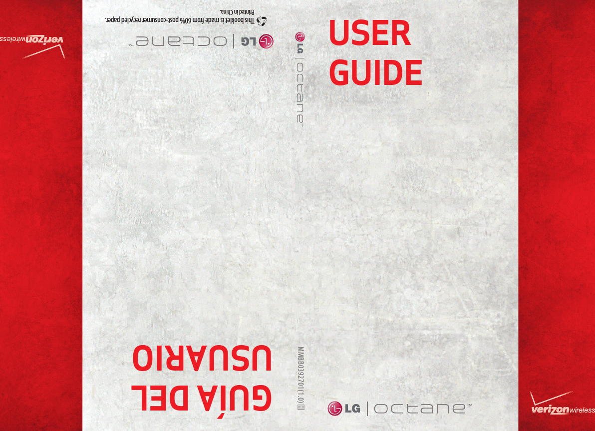 lg octane owners manual