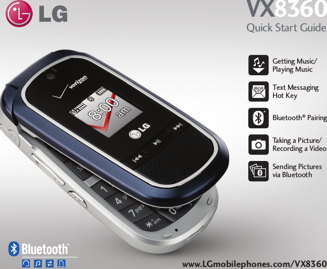 lg vx8360 user manual quick start guide qsg rh usermanual wiki LG VX9400 Verizon LG Phones