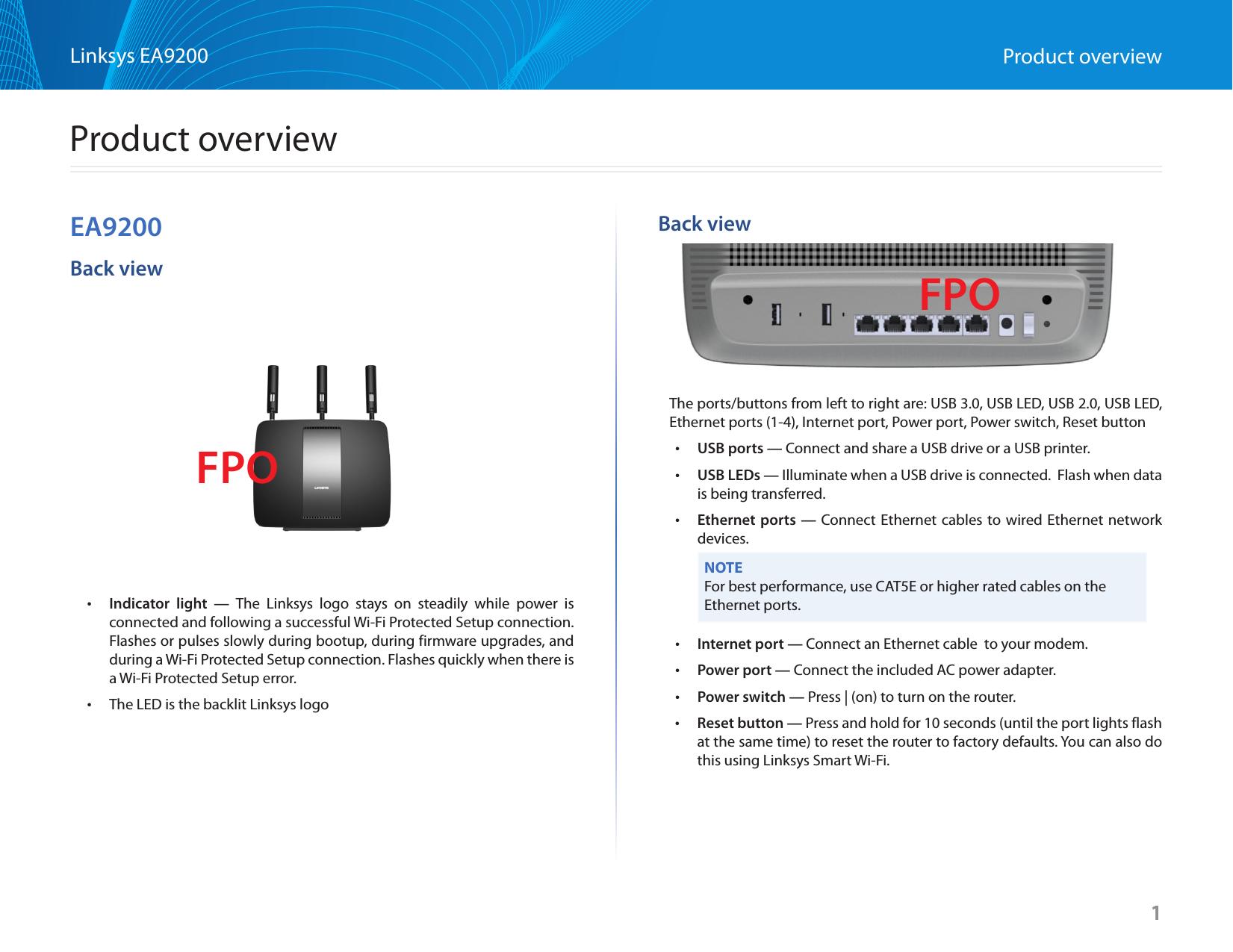 linksys router manual setup