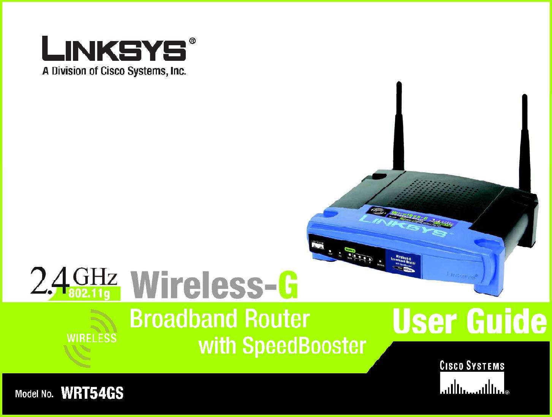 linksys wrt54gsv7 wireless g broadband router with 4 port switch rh usermanual wiki linksys wireless g router driver linksys wireless-g router wap54g manual