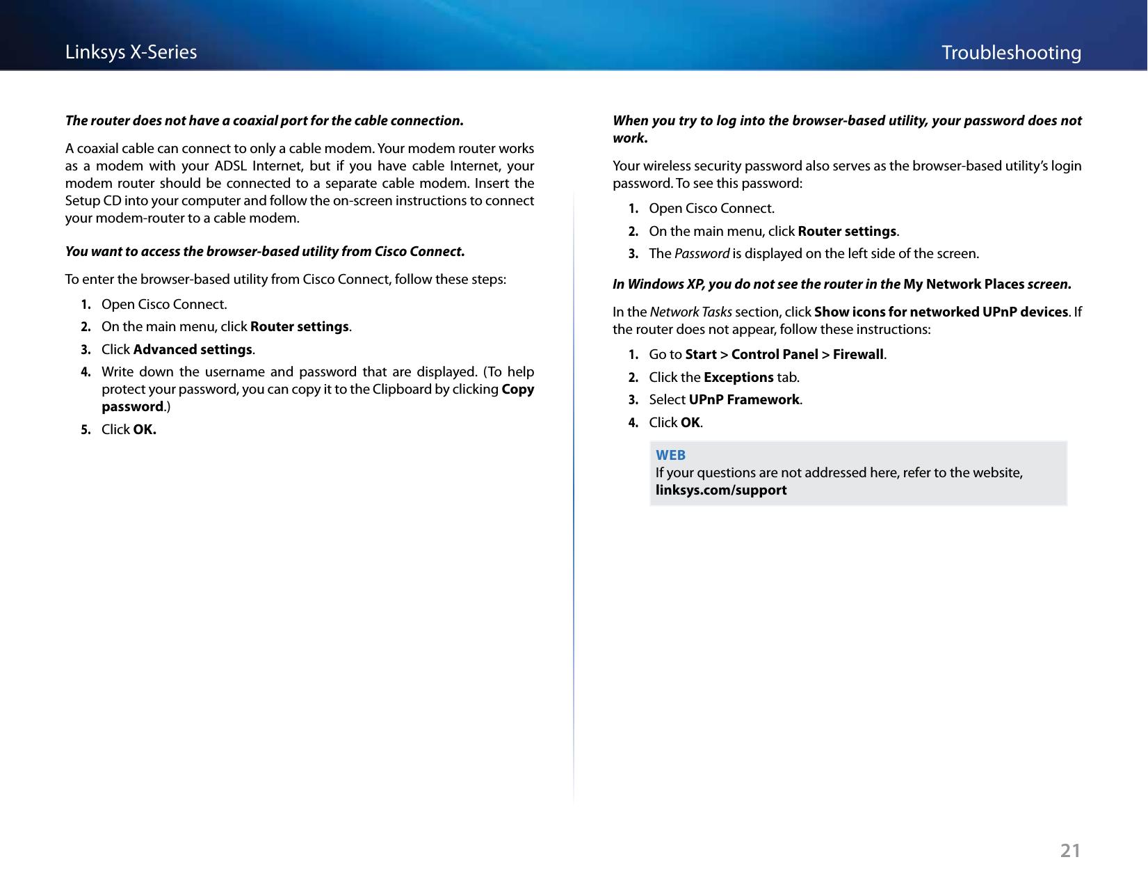 LINKSYS X3500 Linksys X3500 Advanced Wireless-N ADSL2+ Modem Router