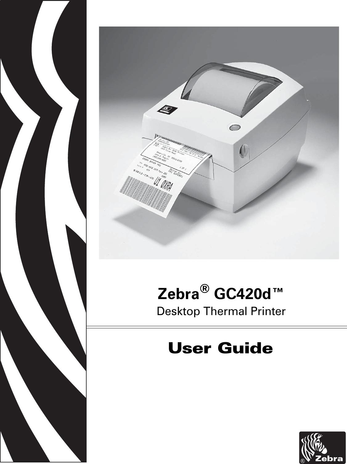 LabelZone Zebra Gc420D User Guide (en) Manual
