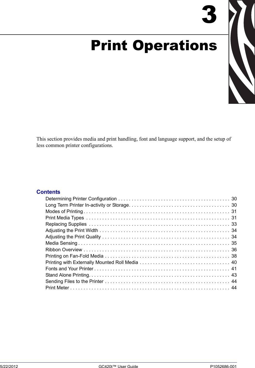 LabelZone Zebra Gc420T User Guide (en) Manual