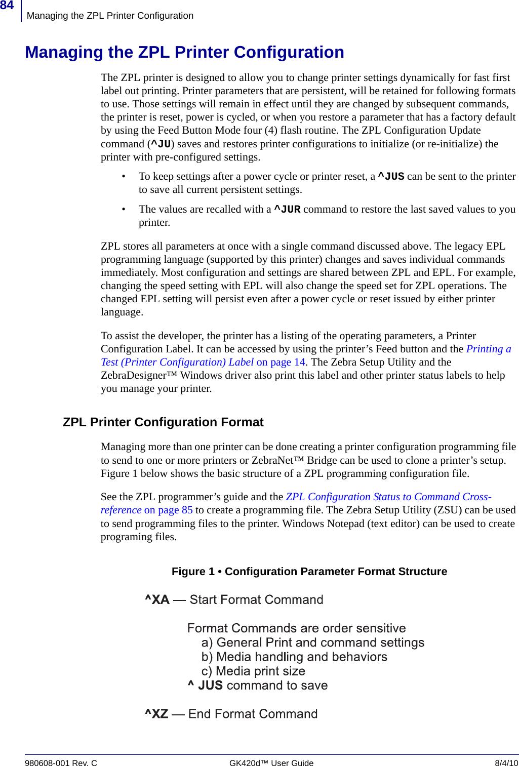 LabelZone Zebra Gk420D 980608 001_rC_GK420dUGen User Manual