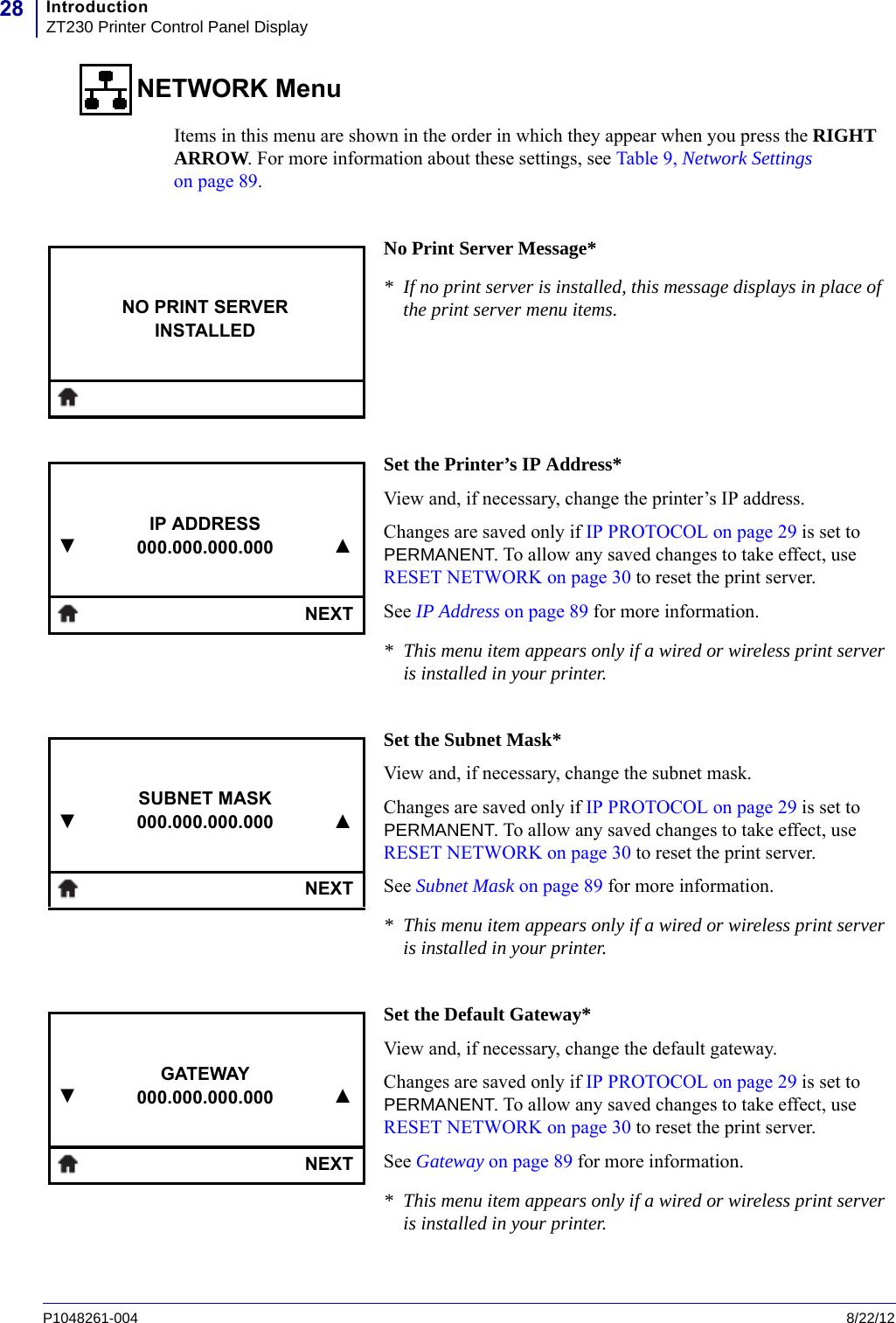 How To Change Ip Address On Zebra Zt230 Printer Zebra