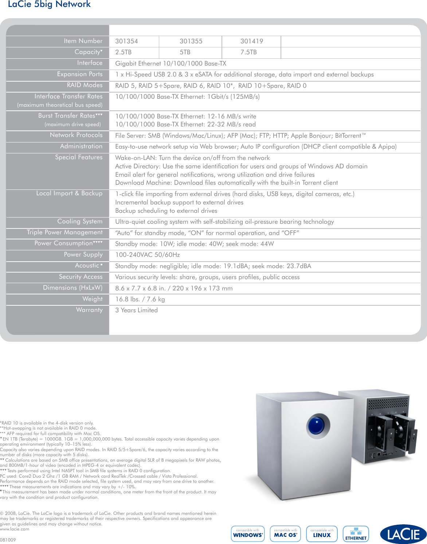 lacie 5big network users manual rh usermanual wiki lacie nas 5big network 2 manual LaCie 5Big Thunderbolt Series