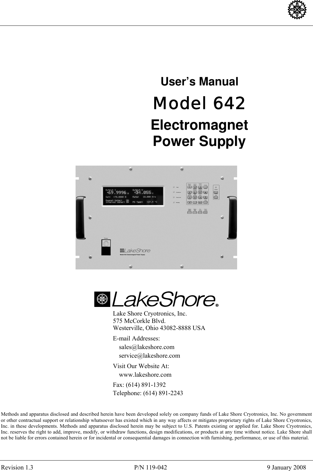 Lakeshore Learning Materials 642 Users Manual V13 Circuit Diagram Of Uniline Ups