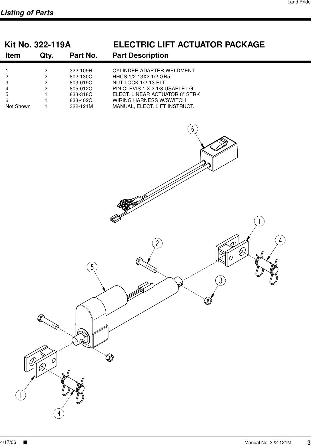 1997 Lull 1054 Wiring Diagram
